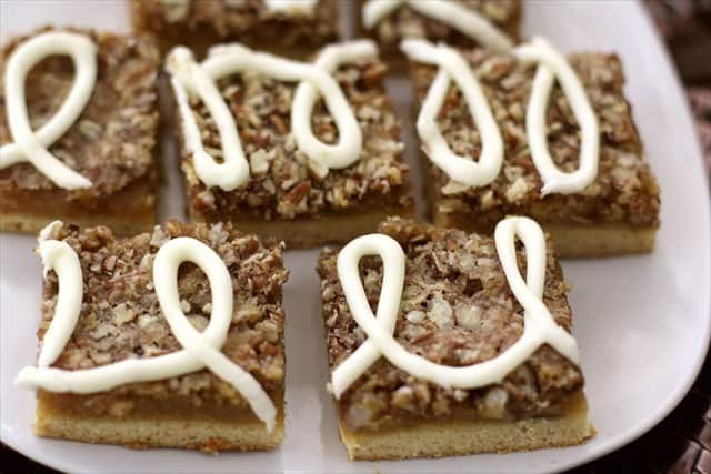 ICED MAPLE PECAN BARS: Butter With A Side of Bread