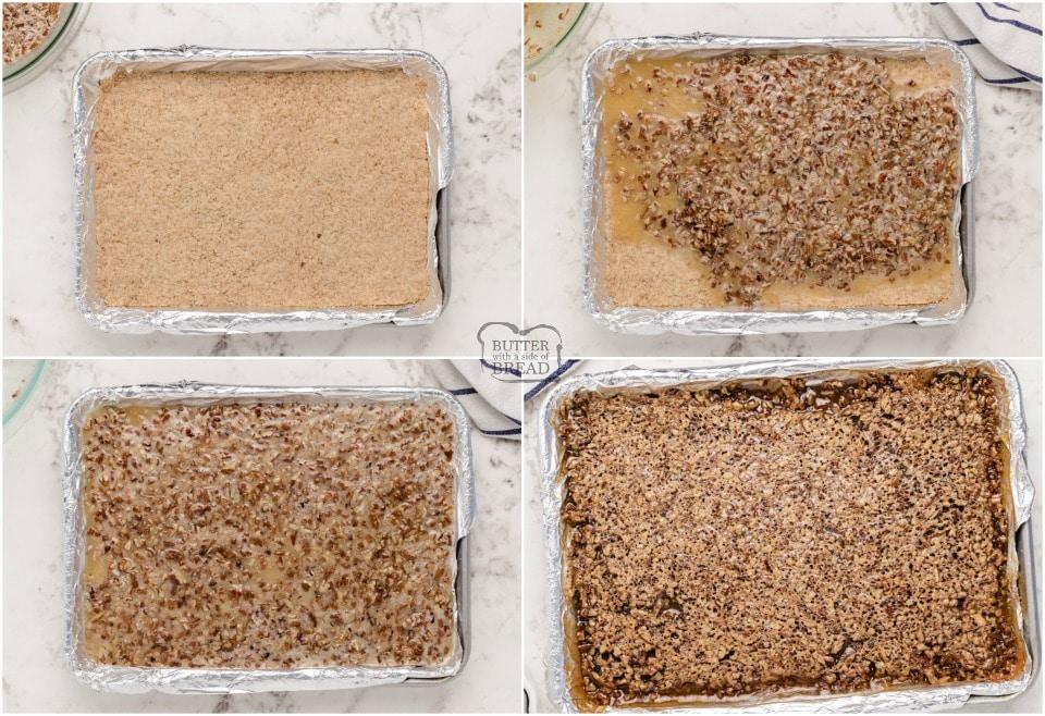 how to make the best Pecan Pie Bars recipe