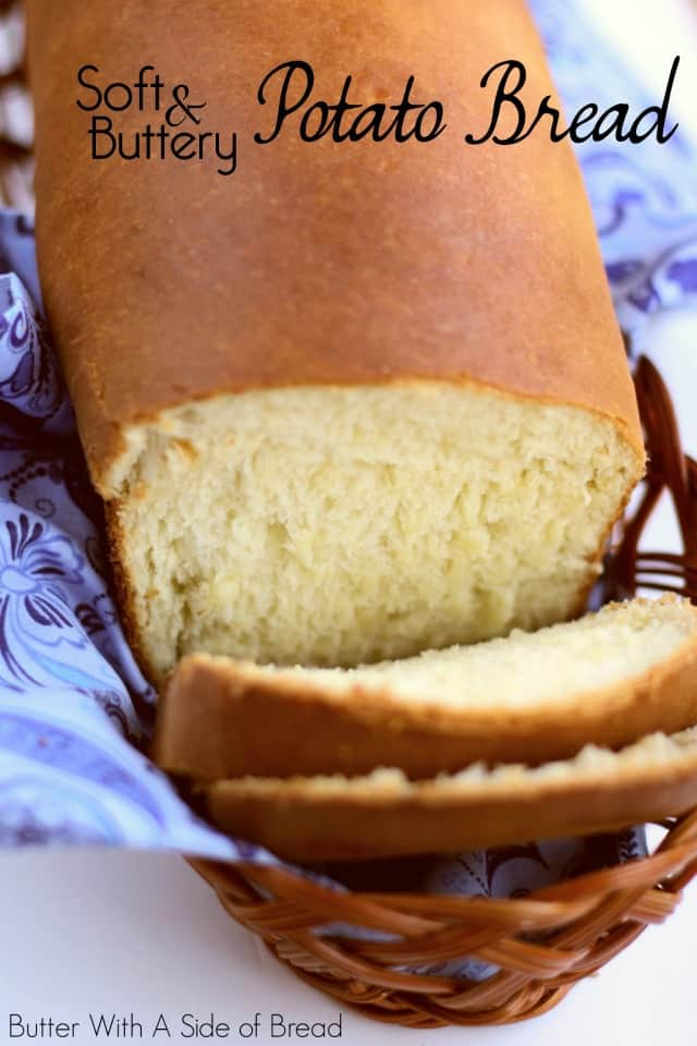Potato Bread made with butter, milk, flour, eggs, and your favorite mashed potatoes. Potato Bread recipe that's easy to make & has a fantastic buttery flavor and a light texture.