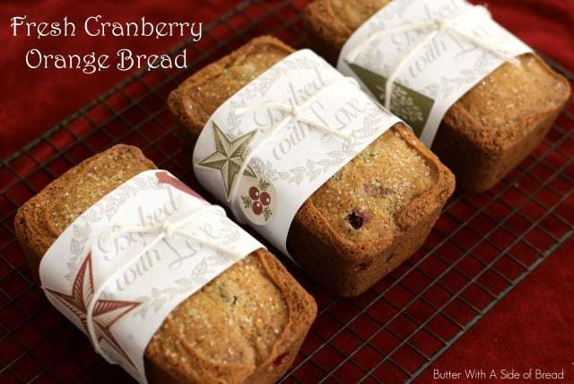 Cranberry Orange Bread is the perfect holiday treat! It fills your home with yummy cranberry, orange and bread aromas plus it is as delicious as it smells!