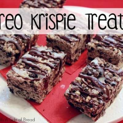 OREO KRISPIE TREATS