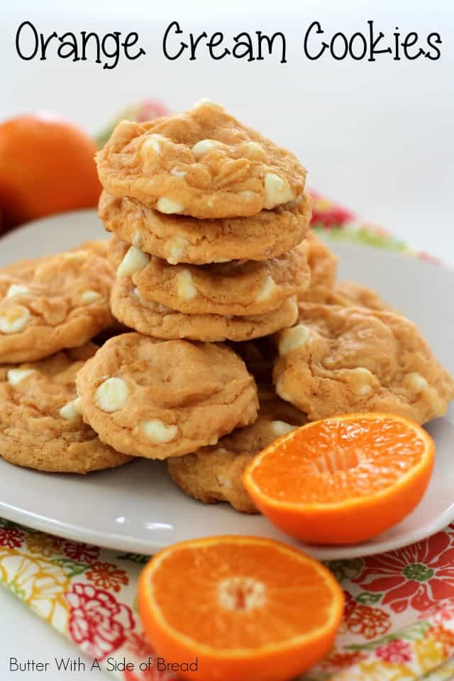 Orange Cream Cookies are everything good about delicious cookie dough, with the addition of a refreshing and incredible orange flavor!