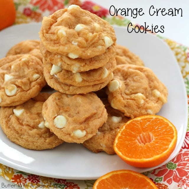 1Orange Cream CookiesTOP. Butter With A Side of Bread 063