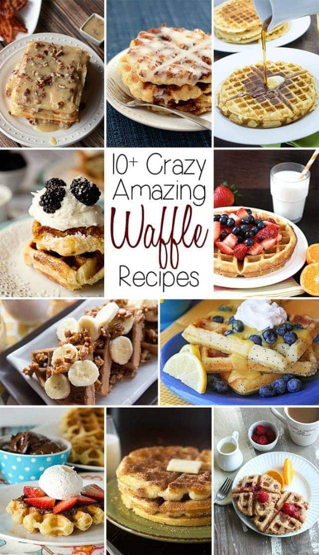 Amazing Waffle Recipes from Butter With A Side of Bread