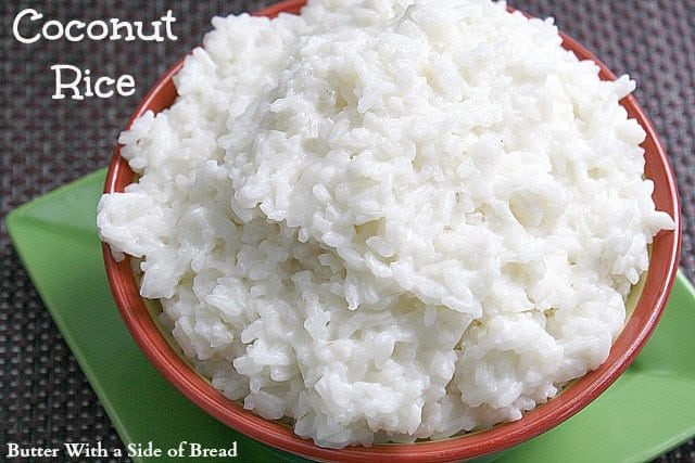 Butter With a Side of Bread: Coconut Rice