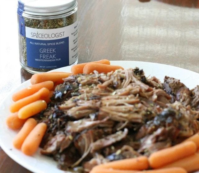 Slow Cooker Greek Roast ~ Butter With A Side of Bread