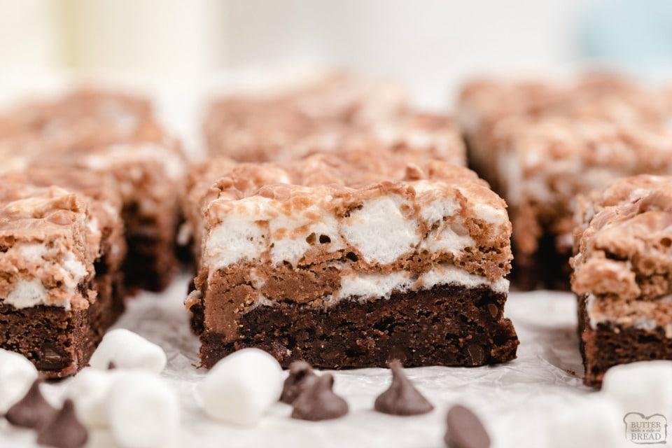 Best Homemade Marshmallow Brownies recipe