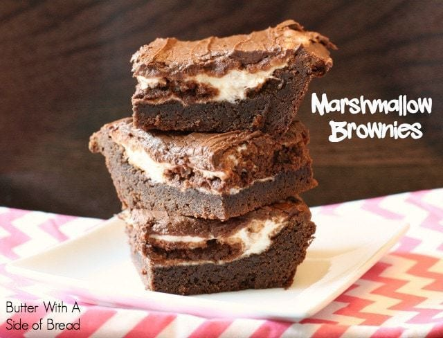 Marshmallow Brownies - Butter With A Side of Bread