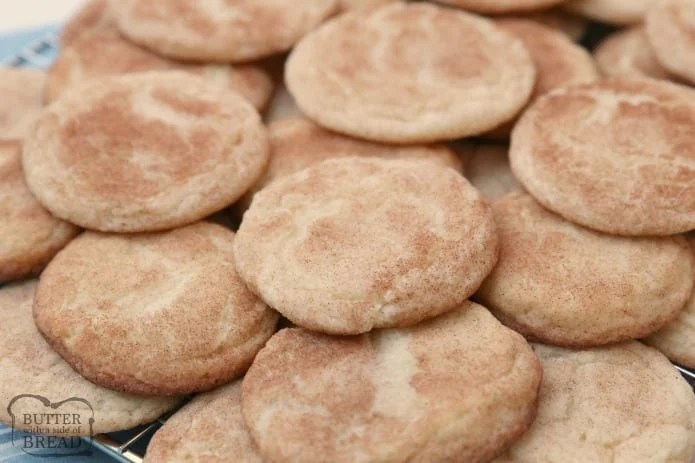 b16520af0e Classic Snickerdoodle cookies recipe for the best Snickerdoodles ever! Soft  & chewy with great cinnamon