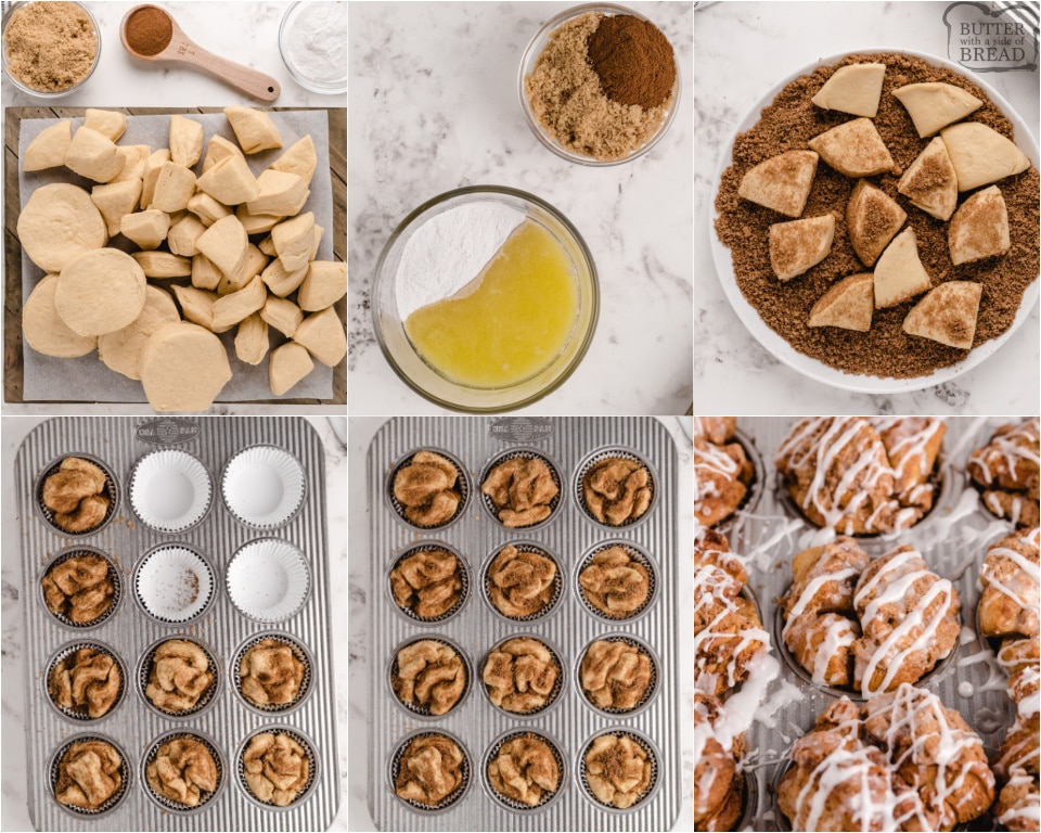 How to MAke Monkey Bread Muffins recipe