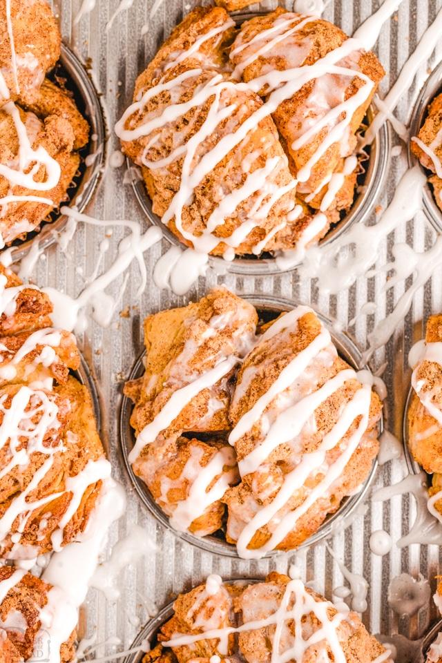 Monkey Bread Muffins recipe