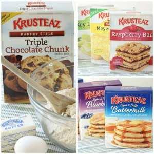 Krusteaz Bakers Dozen collage2