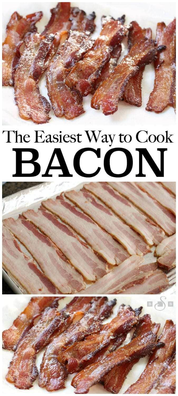 We are big fans of bacon at our house! I've tried every single way to cook it- I've pan fried it, baked it a variety of ways, heck I've even tried boiling it, which is something I don't care to talk about if you don't mind. (Suffice it to say it was an epic fail.) I always seem to come back to this basic way of cooking it, so I thought I'd share it with you all.