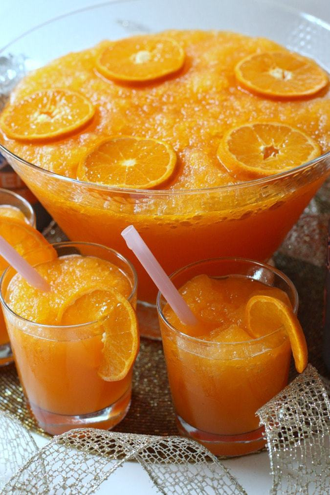 Sparkling Orange Slush - Butter With A Side of Bread