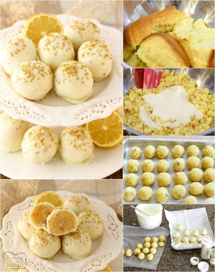 Lemon Cake Balls recipe