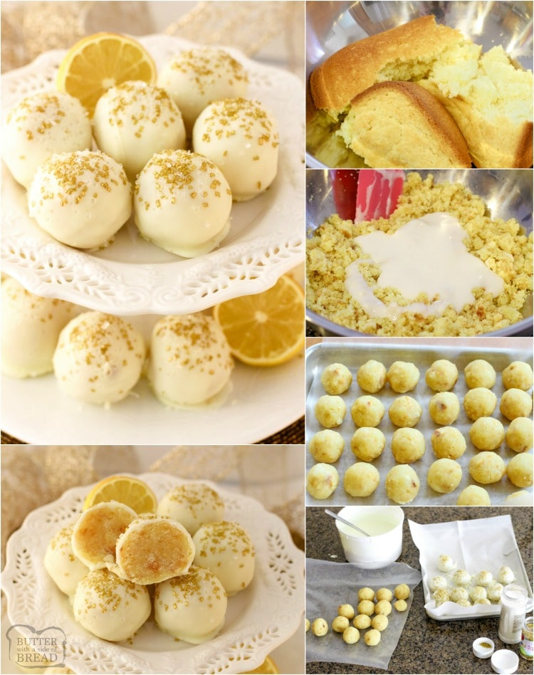 Lemon Cake Balls recipe