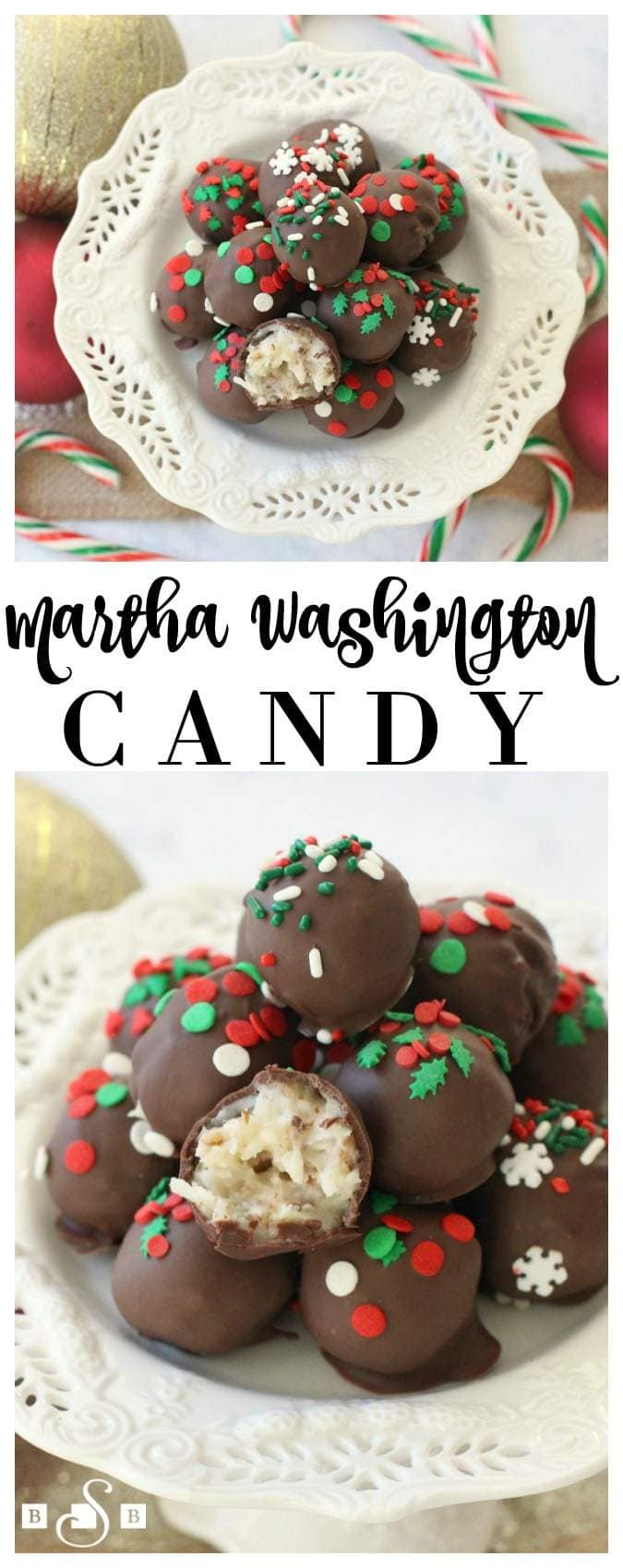 Martha Washington Candy - Butter With A Side of Bread