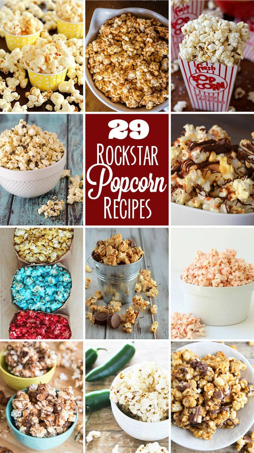 Rockstar Popcorn Recipes - Butter With A Side of Bread