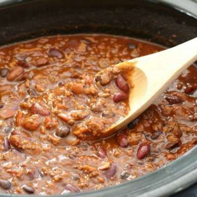 BOLD THREE-MEAT CHILI