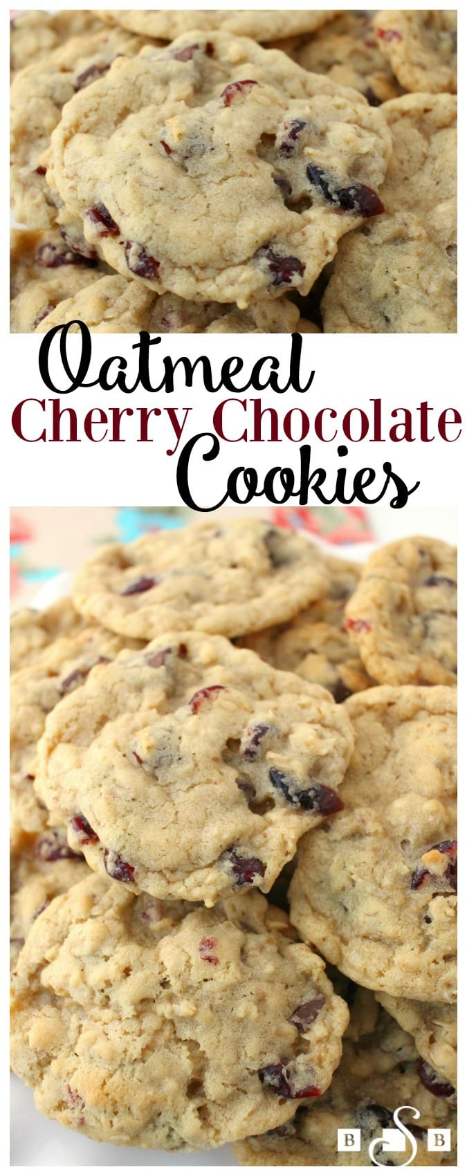Today I want to share a delightful Oatmeal cookie recipe with you. It has great flavor and I love the crispy on the outside, chewy on the inside texture. I used Craisins® - Cherry Juice Infusedbut feel free to swap in any type of Craisins® that you'd like! Be sure to scroll down to see the video of how I incorporated Craisins® into my day- including making these cookies!