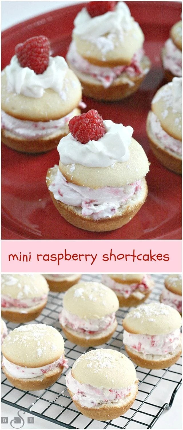 Mini Raspberry Shortcakes - Butter With a Side of Bread