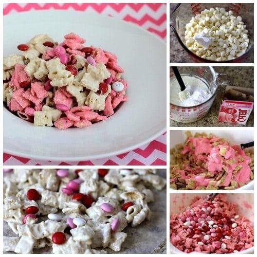 Strawberry Valentine Chex Mix.BSB