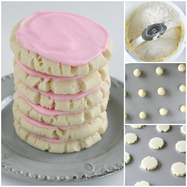 Swig Sugar Cookies are buttery, soft and somewhere in between a sugar cookie and shortbread, with a little bit of delicious frosting on top!