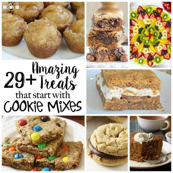 COOKIE MIX SHORTCUTS: Recipes that Start with Cookie Mixes- Butter With A Side of Bread