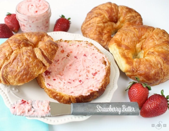 Strawberry Butter is a simple and delicious family favorite recipe! It requires just 3 ingredients and only 5 minutes to make.