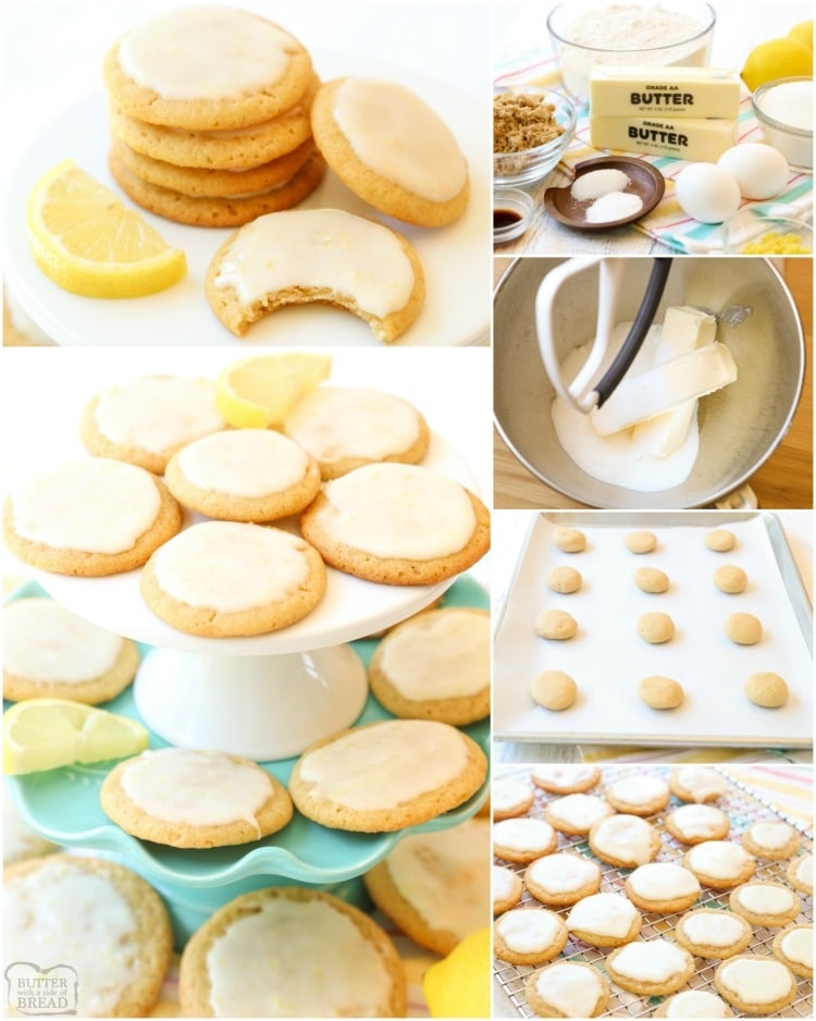 Lemon Butter Cookies is one of my favorite butter cookie recipes and lemon desserts! Every time I make them I'm surprised at just how GOOD these lemon cookies taste.