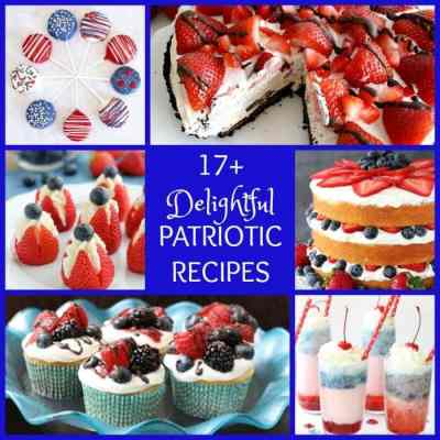 DELIGHTFUL PATRIOTIC RECIPES