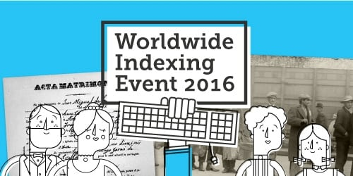 World Indexing Event