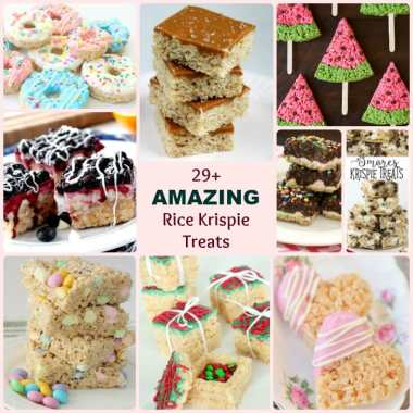 Amazing Rice Krispie Treat Recipes - Butter With A Side of Bread