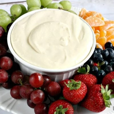 ORANGE CREAMSICLE FRUIT DIP