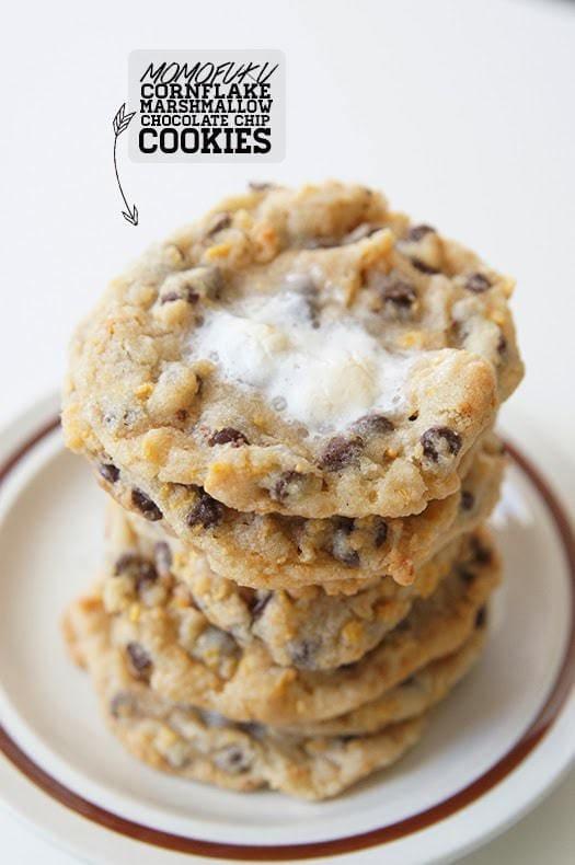 Momofuku Cornflake Marshmallow Chocolate Chip Cookies