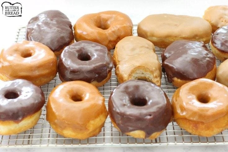 Easy 15-Minute Donuts is one basic donut glaze altered 3 ways results in these amazing 15-Minute Donut recipes. Maple Bars, Chocolate Glaze & Pumpkin Spice.