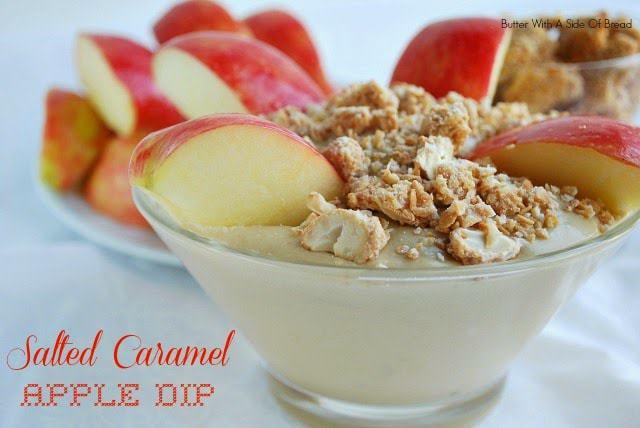 Salted Caramel Apple Dip