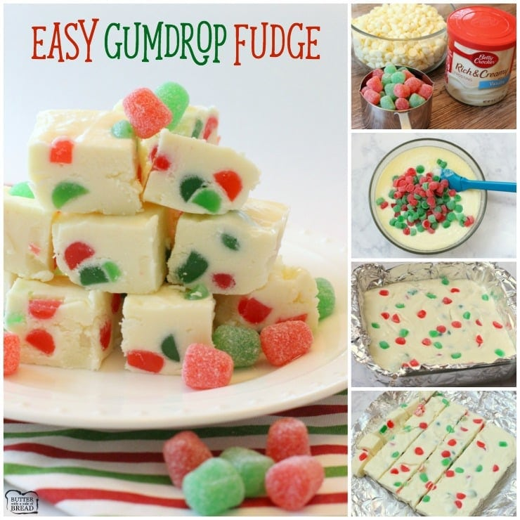 EASY GUMDROP FUDGE Butter With A Side Of Bread