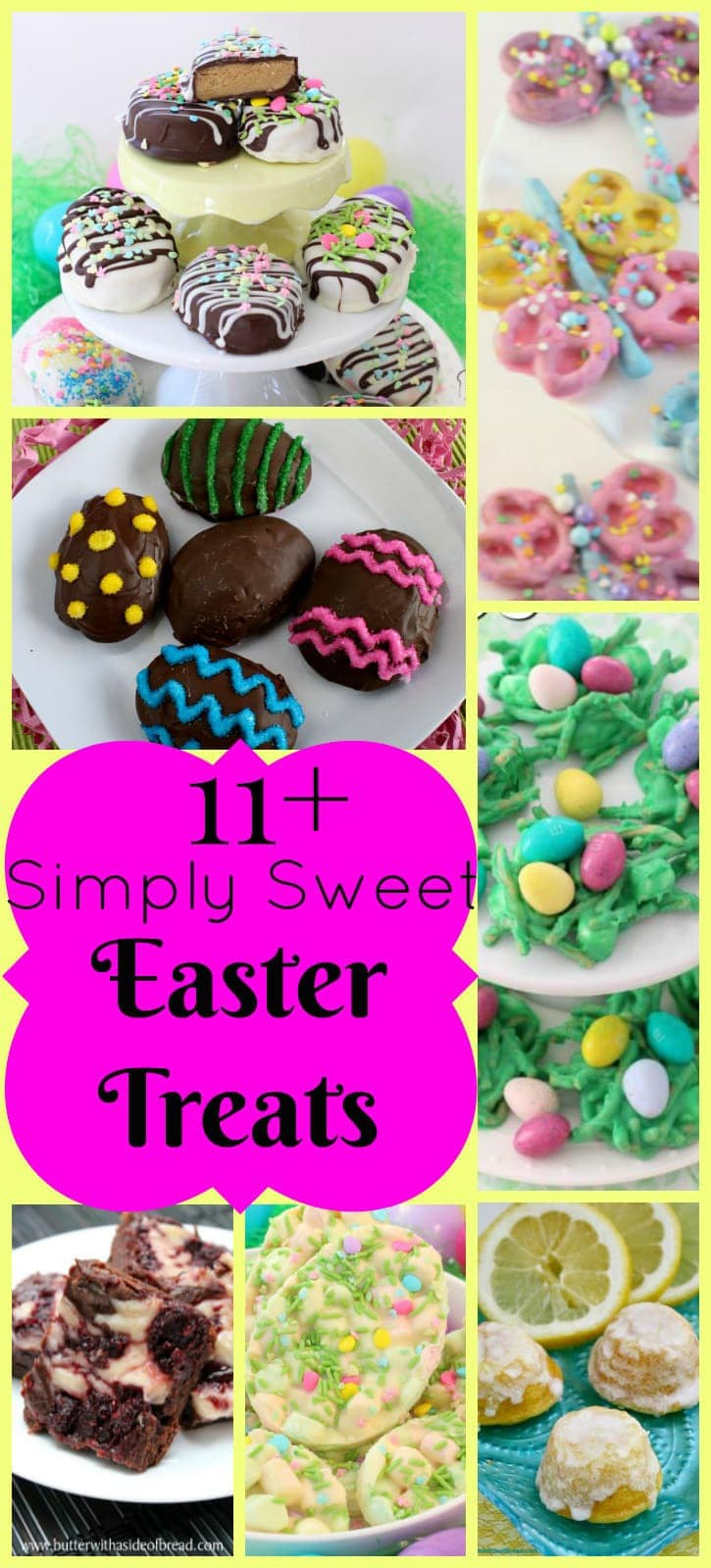 Best Easter Desserts ~ Butter With A Side of Bread
