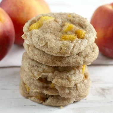 peach snickerdoodles