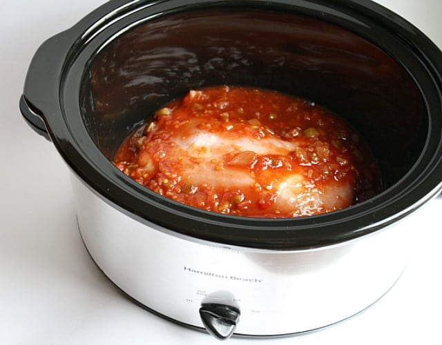 Butter with A Side of Bread: Easy Slow Cooker Sweet Pork