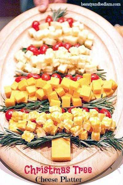 Christmas Tree Fruit Platter.Festive Christmas Veggie Trays Platters Butter With A