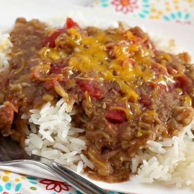SLOW COOKER MADRAS LENTILS