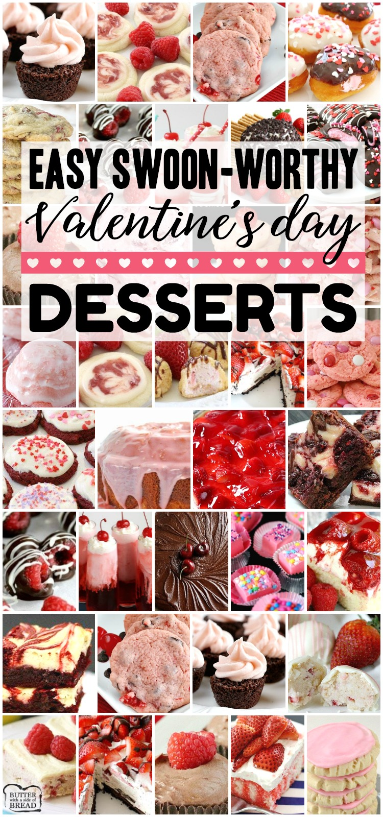 EASY SWOON-WORTHY VALENTINE'S DAY DESSERTS