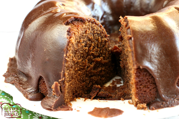 Chocolate Coca-Cola Cake is a rich, moist chocolate cake recipe that is made with Coca-Cola, buttermilk and marshmallow creme with a simple and decadent chocolate ganache frosting. This is the BEST chocolate cake recipe!