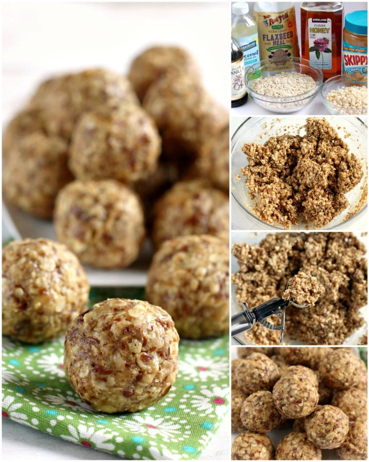 OATMEAL PEANUT BUTTER PROTEIN BALLS - Butter with a Side of