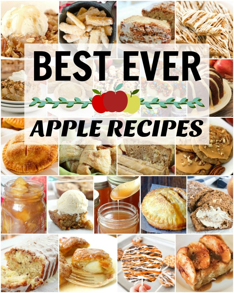 Best Apple Recipes Butter With A Side Of Bread