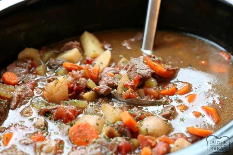 Best Crock Pot Beef Stew Recipe