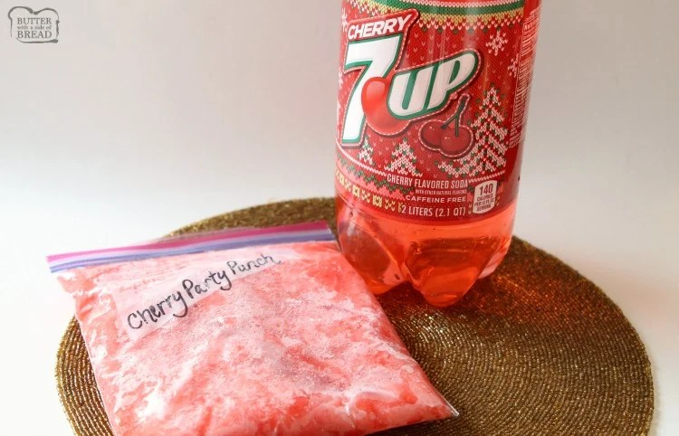 Easy Cherry Party Punch is a fun & festive party drink that everyone goes crazy over! Simple to make & has a fantastic sweet cherry flavor.