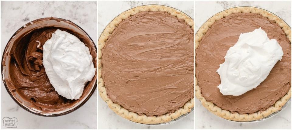 How to make Chocolate Cream Turtle Pie recipe